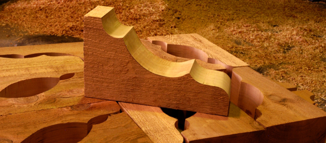 Corbels structural wood components - Exterior structural wood brackets ...