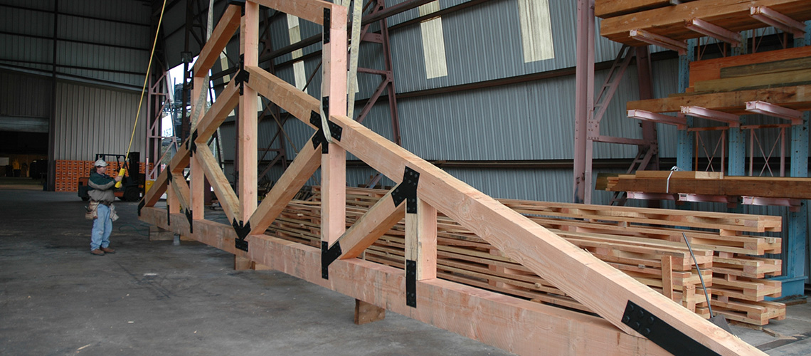 wood truss decorative and structural trusses structural wood components